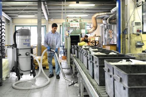 Odkurzacze przemysłowe centralne NILFISK