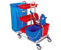 Wózki i zestawy sprzątające